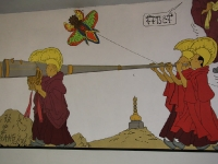 Tibetan-Monks-Tintin-In-Tib