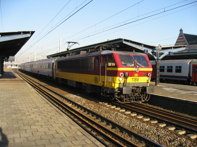 Most Belgian trains just pass by without coming to a halt