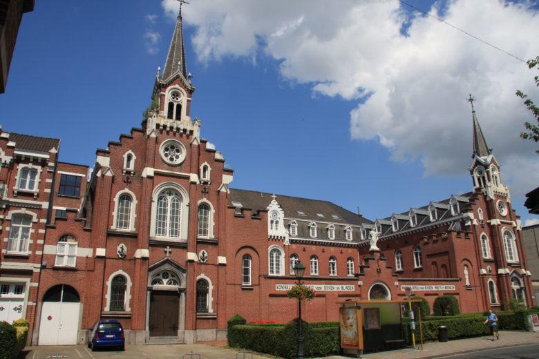 facade Institut Royal pour Sourds Muets et Aveugles de Woluwe-Saint-Lambert