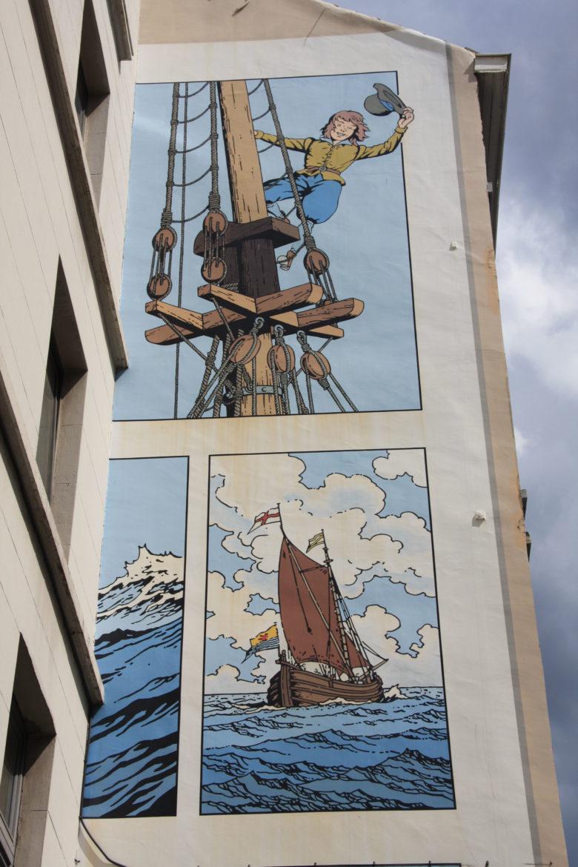 cori le moussaillon top mural